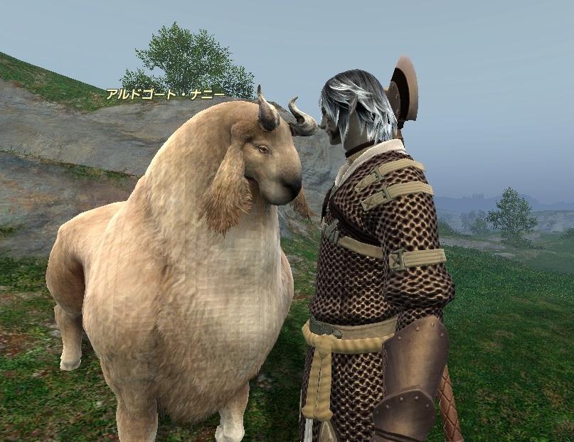 FF14…スナフキンとヤギ