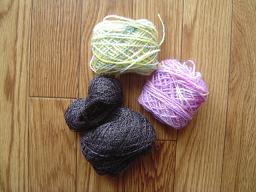 glove yarn