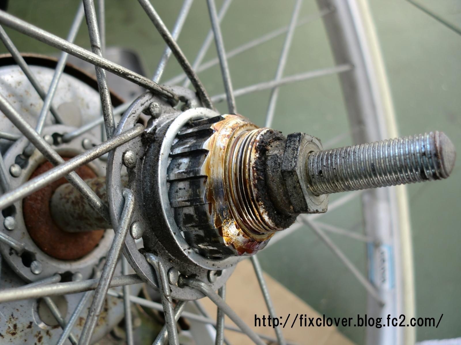 ... 自転車の出張修理クローバー