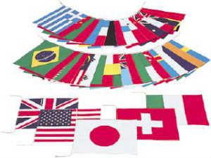 エバニュー万国旗