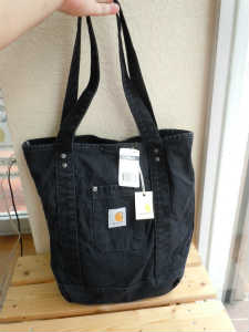Carhartt(カーハート) Detroit Tote Bag WA072 BLK (1)