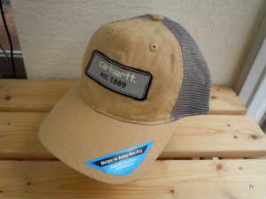 Carhartt(カーハート) Mens Logo Patch Mesh Back Cap A364 WNB