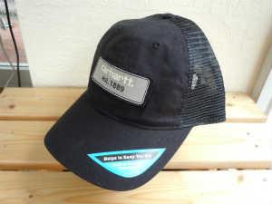 Carhartt(カーハート) Mens Logo Patch Mesh Back Cap A364 BLK (1)