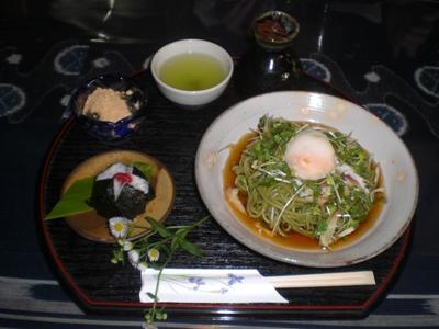 2010.7.10 茶そばセット