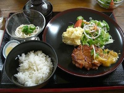 2010.8.14 2とうちゃんのランチ
