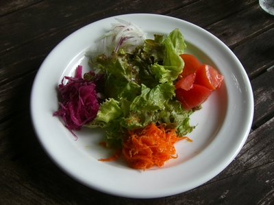 2010 沖縄 ランチのサラダ