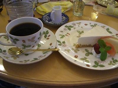 きぃのレアチーズケーキ