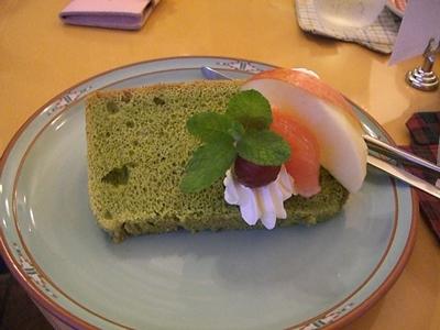 guiziさんの抹茶シフォンケーキ