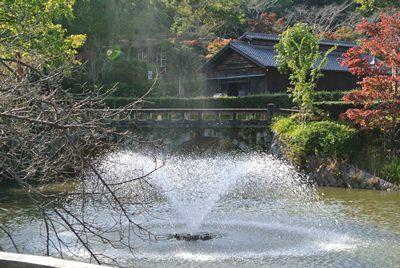 明治村噴水