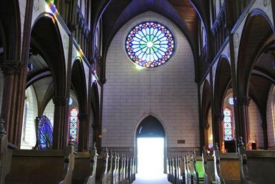 天主堂ステンドグラス