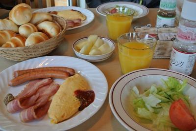 朝食ですよ