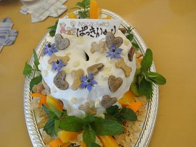 2012.5.6 6歳ケーキ