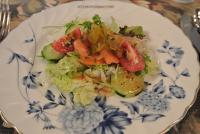 7.15 夕食サラダ