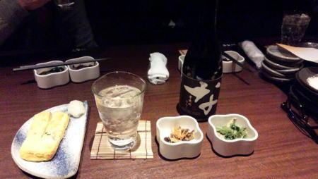 2軒目 忍家 おとおし&焼酎