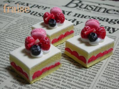 いちごのデコレーションケーキ1