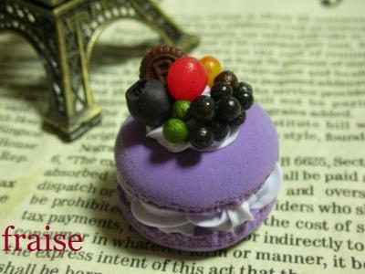紫マカロン