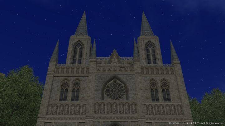 シラクサの教会へ