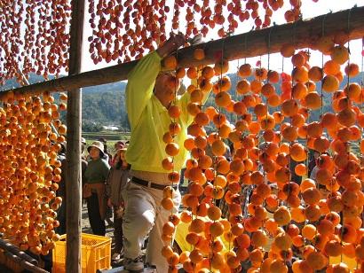干し柿体験2