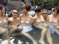 長澤あずさ・水城奈緒・百花エミリ・横山みれい 「巨乳混浴コンパニオン 2」