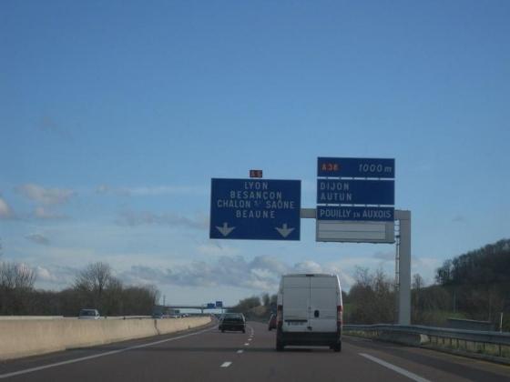 ディジョン・リヨン高速A6