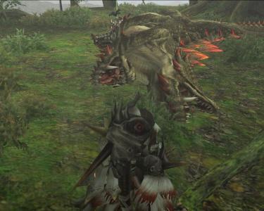 双頭の獰竜