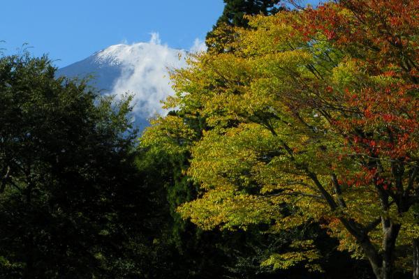 小山町 富士霊園から