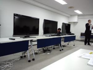 研修会テレビ