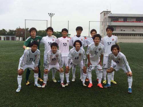 Iリーグ中国2014 プレーオフ第2戦(2014:11:1 土)