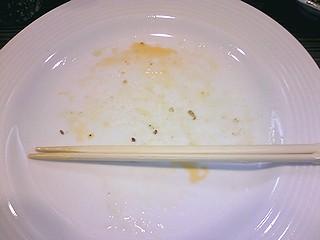 味亭海老焼き揚げ皿