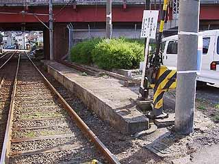 元岸里乗換え駅
