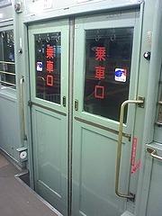 両開きドア