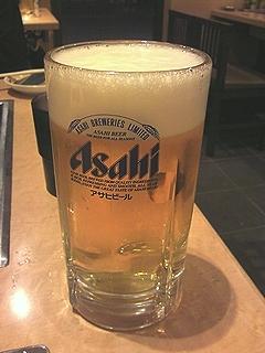 だるまや生ビール