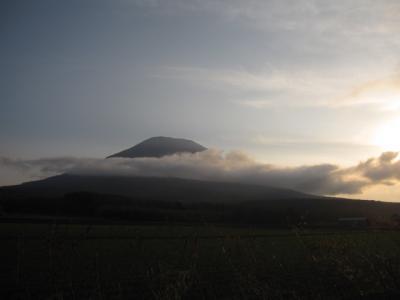 秋の羊蹄山③