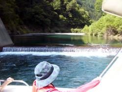 奥木曽湖上流