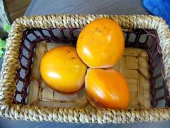 三つ子の柿