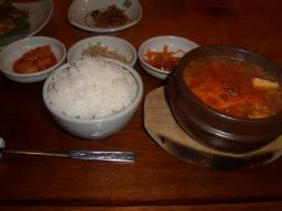 鍋定食(¥950)