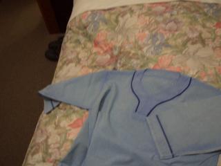 ホテルの浴衣