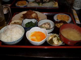 赤魚の煮付定食