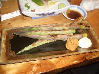 八甲田山 タケノコ焼