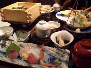 セイロ膳とカニ寿司膳
