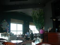 最上階カフェ