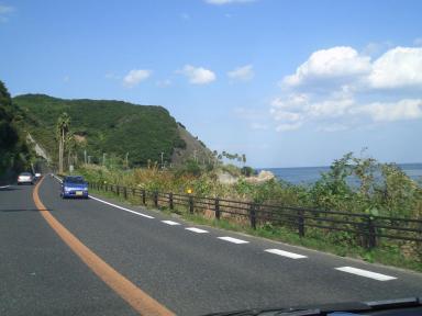 淡路島海岸線