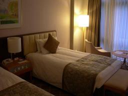 このホテルもなかなかイイ感じ