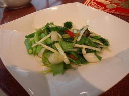 温野菜の炒め物
