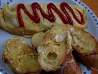 食 フレンチトーストとオムレツ 120108_cIMG_1179