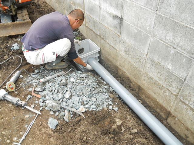 雨水排水工事