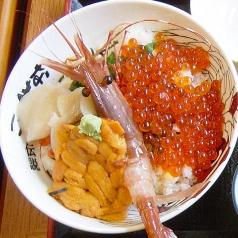 畠兼海鮮丼2