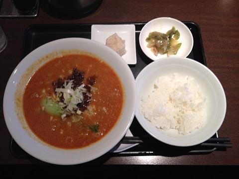 坦々麺セット2