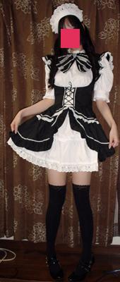 メイド服!
