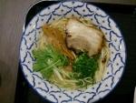 天然藻塩ラーメン@阿倍野noodles